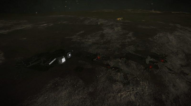 Noticias de la Galaxia: Localizada la nave estrellada del agente de la ACT desaparecido